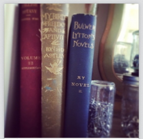 antique books that may or may not become art