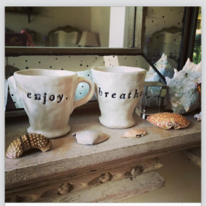I collect ceramics and these cups are two of my favorite Zech Studio pieces.