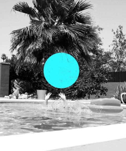 Palm Springs- Blue Dot