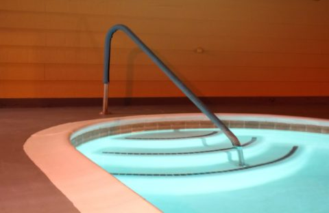 Palm Springs Pool Steps
